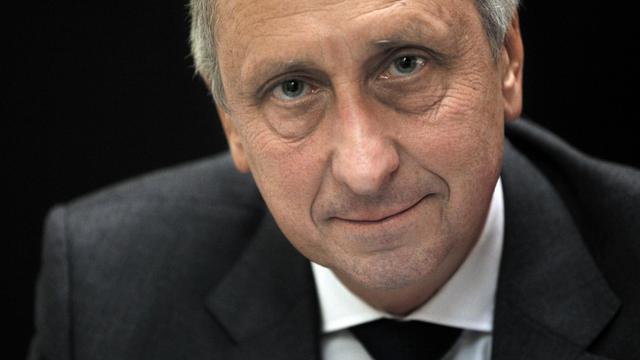 L'ancien procureur de Nanterre Philippe Courroye le 18 novembre 2010 à Nanterre [Joel Saget / AFP/Archives]