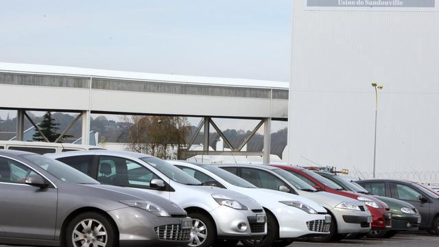 Vue extérieure de l'usine Renault à Sandouville en date du 19 novembre 2010 [Kenzo Tribouillard / AFP/Archives]