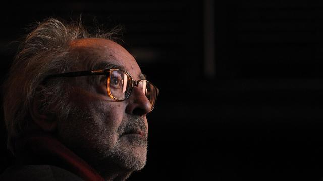 Jean-Luc Godard, le 30 novembre 2010 à Zurich [Fabrice Coffrini / AFP/Archives]