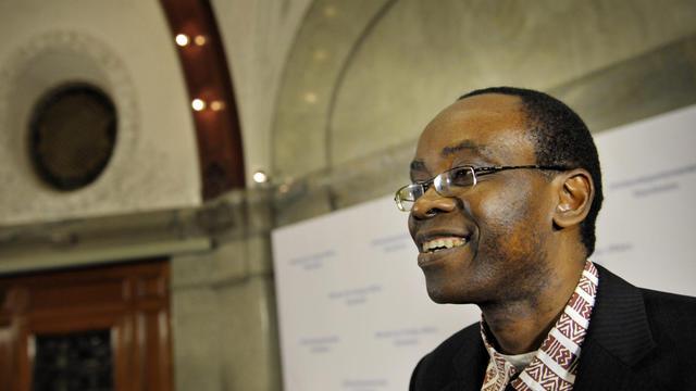 Le militant nigéraian Nnimo Bassey, le 6 décembre 2010 à Stockholm [Jessica Gow / SCANPIX SWEDEN/AFP/Archives]