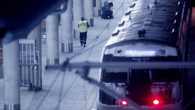 Un train à Oslo [Lien, Kyrre / Scanpix/AFP/Archives]