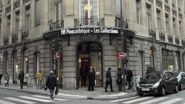 L'entrée de la pinacothèque de Paris, le 26 janvier 2011 [Jacques Demarthon / AFP/Archives]