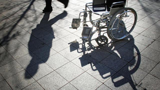 Une chaise roulante [Jean-Philippe Ksiazek / AFP/Archives]