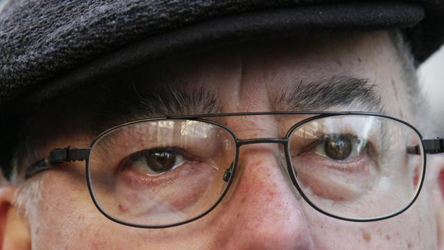 Marc Blondel, président de la Libre Pensée et ancien secrétaire général de FO, le 10 décembre 2005 à Paris [Jean-Pierre Muller / AFP/Archives]