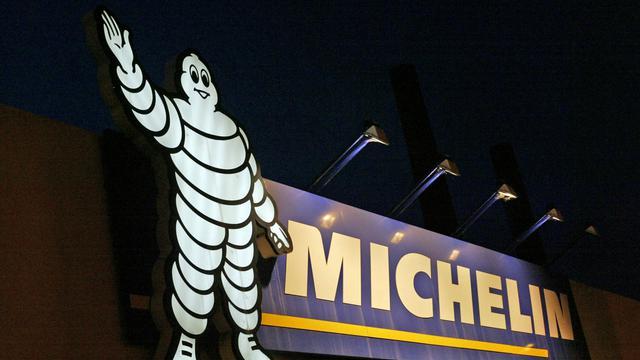 Entrée du groupe Michelin à Clermont-Ferrand, le 26 mai 2006 [Thierry Zoccolan / AFP/Archives]