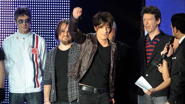Nicola Sirkis, le 9 février 2011 au Zénith de Lille pour les 26e Victoires de la Musique [Denis Charlet / AFP/Archives]