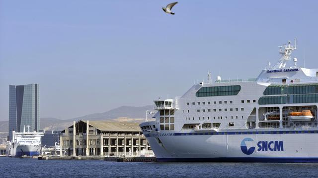 Un bateau de la SNCM [Boris Horvat / AFP/Archives]