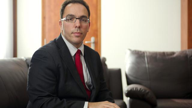 Le député-maire d'Asnières-sur-Seine Sébastien Pietrasanta le 6 avril 2011 [Bertrand Langlois / AFP/Archives]