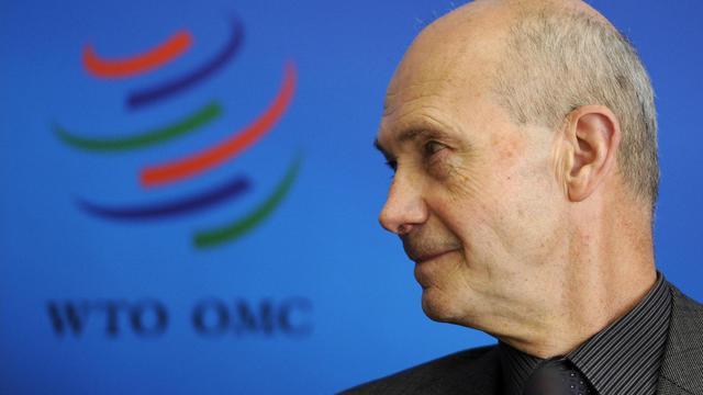 Le directeur général de l'OMC, Pascal Lamy, le 7 avril 2011 à Genève [Fabrice Coffrini / AFP/Archives]
