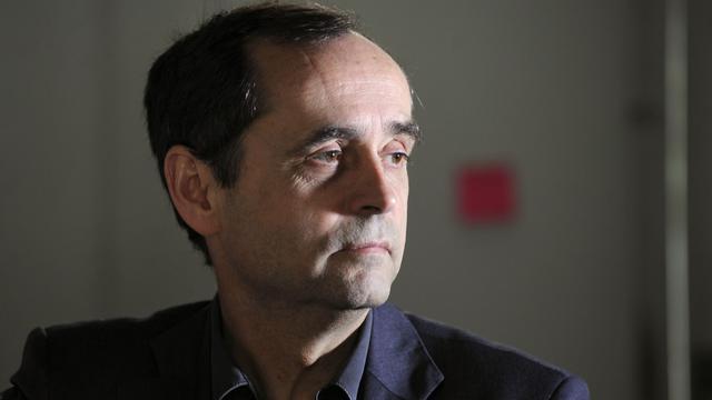 Le journaliste Robert Ménard, le  8 avril 2011 [Franck Fife / AFP/Archives]