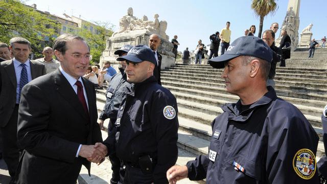 L'ancien ministre de l'Intérieur Claude Guéant, le 5 mai 2011 à Marseille [Gerard Julien / Pool/AFP/Archives]