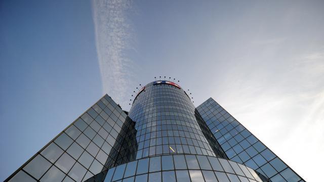 La tour TF1 à Boulogne-Billancourt, à l'ouest de Paris [Franck Fife / AFP/Archives]