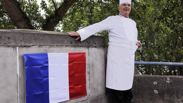 Paul Bocuse, le 16 mai 2011 à Collonges-au-Mont-d'Or [Philippe Desmazes / AFP/Archives]