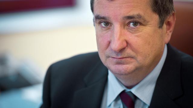 Le président de l'Autorité de régulation des jeux en ligne (Arjel) Jean-François Vilotte le 27 janvier 2011 à Paris [Martin Bureau / AFP/Archives]