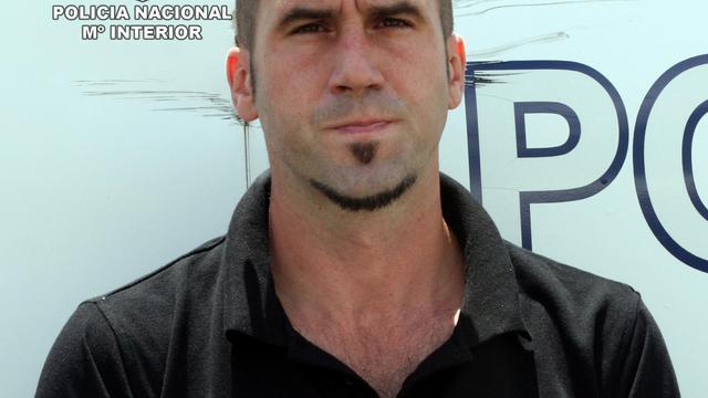 """Garikoitz Aspiaru Rubina alias """"Txeroki"""", un des chefs de l'ETA, le 30 mai 2011 à Madrid [- / Ministère de l'Intérieur espagnol/AFP/Archives]"""
