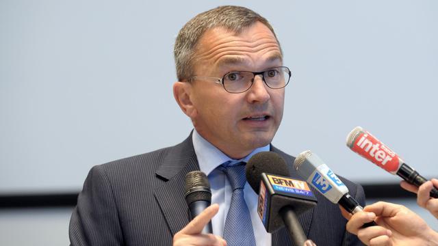 Le directeur industriel de PSA Denis Martin, le 9 juin 2011 à Paris [Eric Piermont / AFP/Archives]