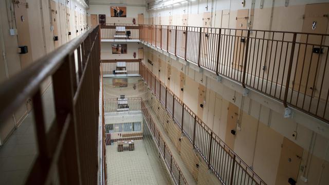 Le quartier des hommes à la prison de Fresnes [Fred Dufour / AFP/Archives]