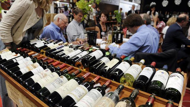 Le Vinexpo 2011, un des plus grands salons au monde de vins et spiritueux, le 21 juin 2011 à Bordeaux [Jean-Pierre Muller / AFP/Archives]