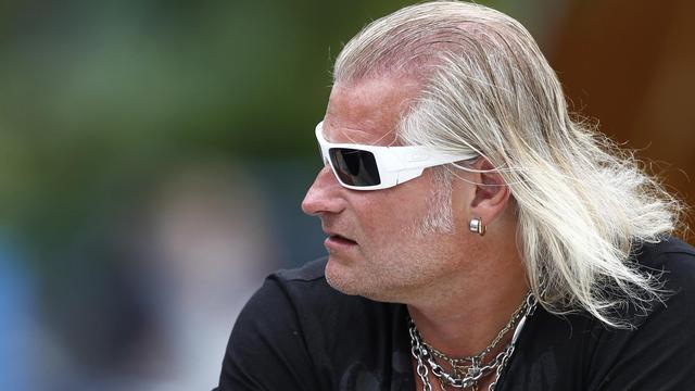 L'entraîneur de natation Philippe Lucas à l'Open de Paris, le 25 juin 2011. [Alexander Klein / AFP/Archives]