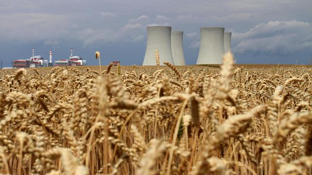 La centrale nucléaire tchèque de Temelin, le 24 juillet 2011 [Radek Mica / AFP/Archives]