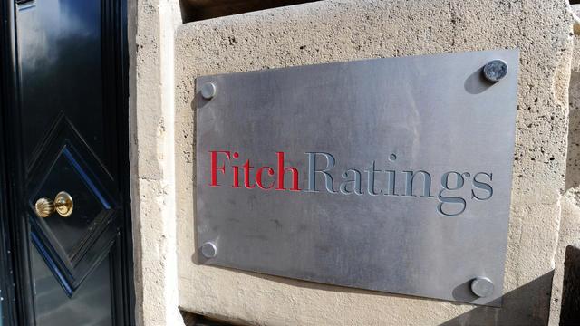 Les locaux de Firtch Ratings à Paris [Miguel Medina / AFP/Archives]