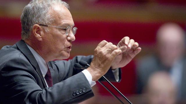 L'actuel président de la commission des Finances de l'Assemblée Gilles Carrez, le 6 septembre 2011 à Paris [Joel Saget / AFP/ Archives]