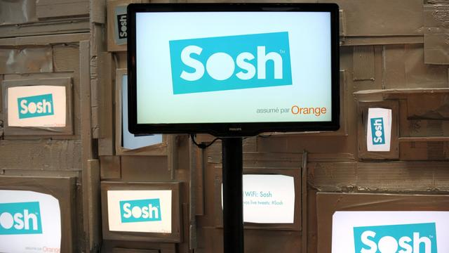 Logo de Sosh [Eric Piermont / AFP/Archives]
