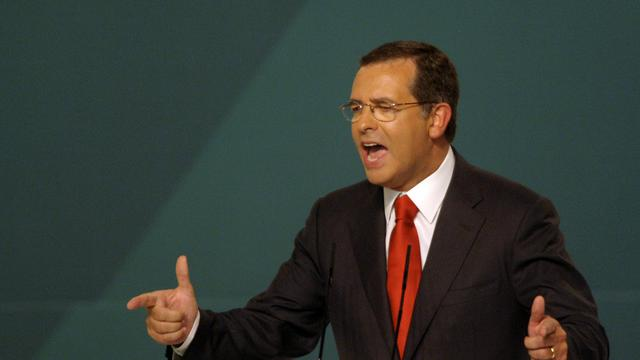 Le chef du Parti socialiste portugais, Antonio José Seguro, le 11 septembre 2011 à Braga [Miguel Riopa / AFP/Archives]