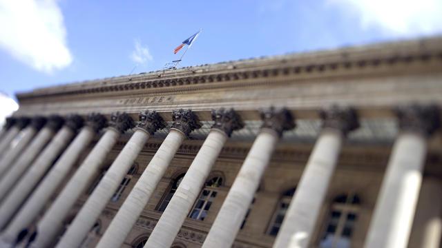 Le Palais Brongniart, qui hébergeait autrefois la Bourse de Paris [Joel Saget / AFP/Archives]