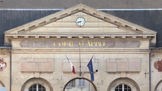 Fronton d'une cour d'appel [Jacques Demarthon / AFP/Archives]