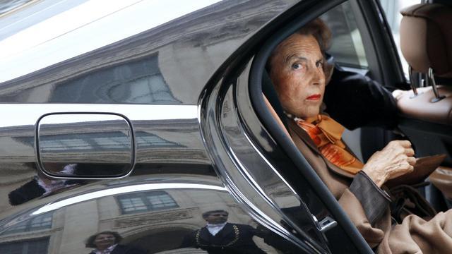 La milliardaire Liliane Bettencourt, 12 octobre 2011 à Paris [Francois Guillot / AFP/Archives]