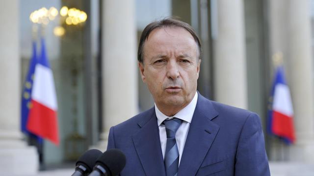 Jean-Pierre Bel le 13 octobre 2012 à l'Elysée à Paris [Eric Feferberg / AFP/Archives]