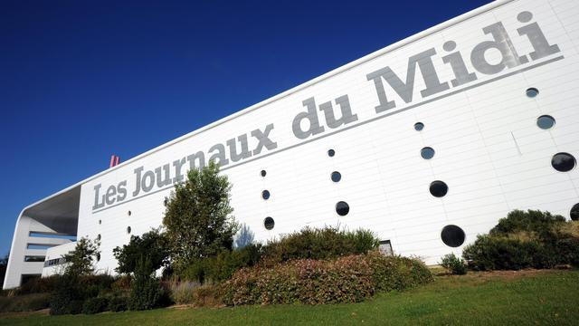 Le siège du groupe des Journaux du Midi, à Montpellier [Pascal Guyot / AFP/Archives]