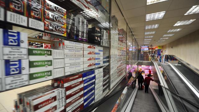 Un magasin de tabac et alcool à Andorre, le 17 octobre 2011 [Eric Cabanis / AFP/Archives]