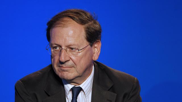 Le secrétaire général adjoint de l'UMP Hervé Novelli, le 18 octobre 2011 à Paris [Alexander Klein / AFP]
