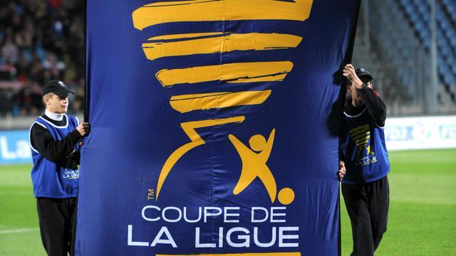 Cérémonie avant le match de Coupe de la Ligue Lille-Sedan, le 26 octobre 2011 à Villeneuve-d'Ascq. [Denis Charlet / AFP]