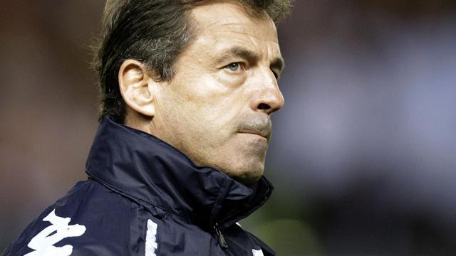 L'ancien manager du XV de France de rugby, Pierre Berbizier, le 18 novembre 2011 [Graham Stuart / AFP/Archives]