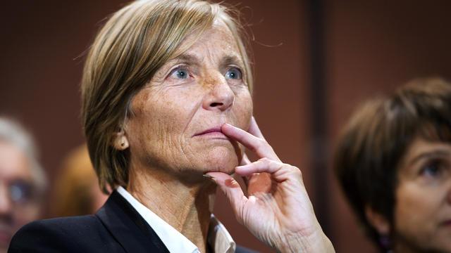Marielle de Sarnez, vice-présidente du MoDem, le 30 novembre 2011 à Paris [Lionel Bonaventure / AFP/Archives]