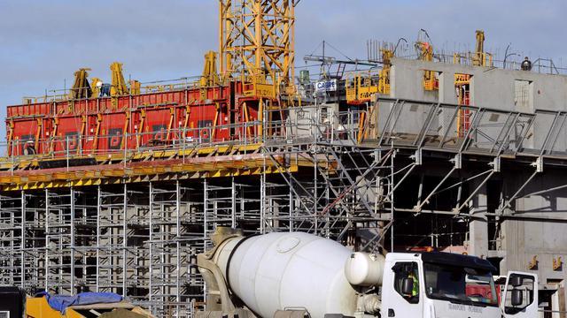 Un chantier d'habitations en construction dans le nord de la France, en 2011 [Philippe Huguen / AFP/Archives]
