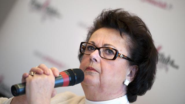 Christine Boutin, présidente du Parti Chrétien-démocrate (PCD), le 5 décembre 2011 à Paris [Martin Bureau / AFP/Archives]