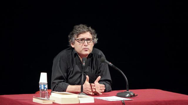 Le philosophe Michel Onfray, le 28 novembre 2011 en Normandie [Kenzo Tribouillard / AFP/Archives]