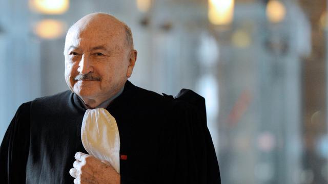 L'avocat Georges Kiejman, le 15 décembre 2011 à Paris [Bertrand Guay / AFP/Archives]