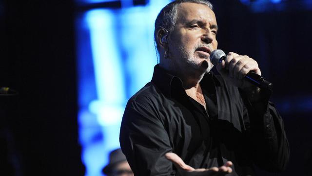 Le chanteur Bernard Lavilliers en concert, le 16 décembre 2011 à Florange [Jean-Christophe Verhaegen / AFP/Archives]