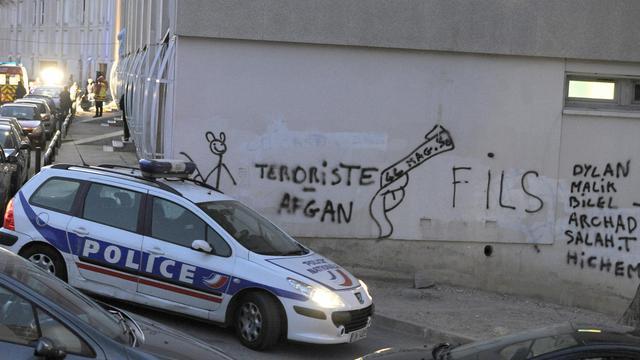 La police dans les quartiers nord de Marseille [Gerard Julien / AFP/Archives]