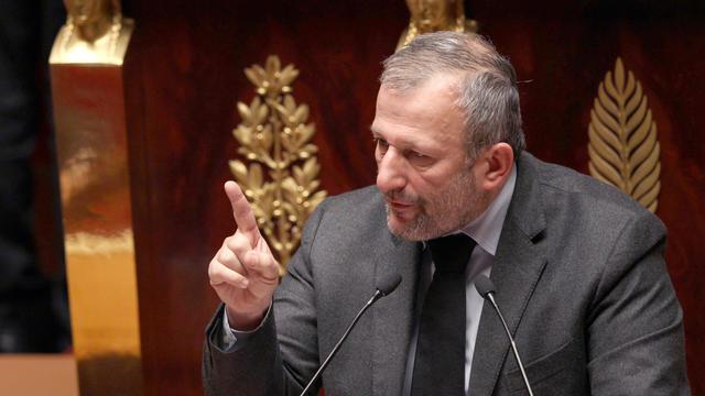 Le député-maire socialiste de Sarcelles (Val-d'Oise) François Pupponi, le 22 décembre 2011 à Paris [Jacques Demarthon / AFP/Archives]