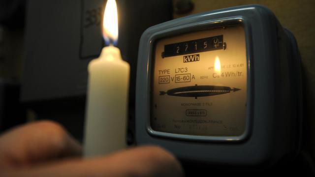 Un compteur électrique [Anne-Christine Poujoulat / AFP/Archives]