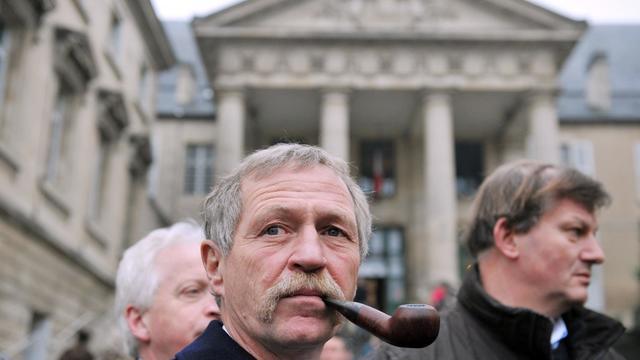 José Bové, le 13 janvier 2012 à Poitiers [Alain Jocard / AFP/Archives]