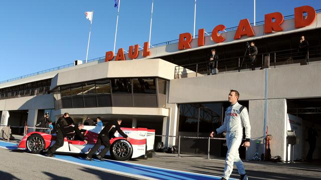 Le circuit automobile Paul Ricard au Castellet, le 25 janvier 2012. [Gérard Julien / AFP/Archives]