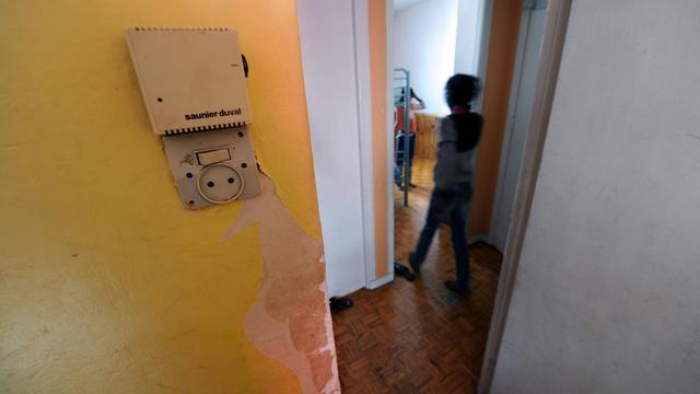 Un logement insalubre [Eric Cabanis / AFP/Archives]