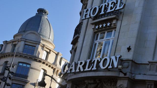 L'hôtel du Carlton à Lille [Philippe Huguen / AFP/Archives]